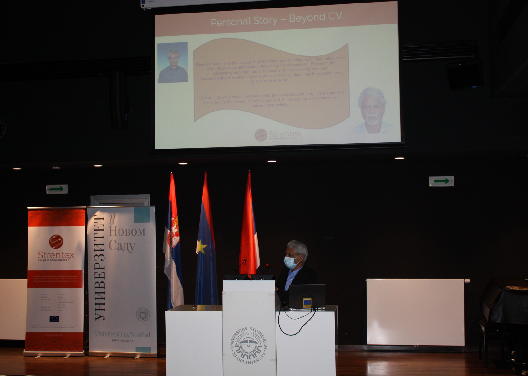 Presentation by the ERA Chair Dr. Jeoti